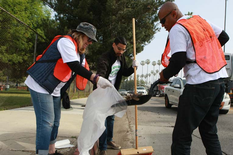 Van Ness Recreation Center Clean Up