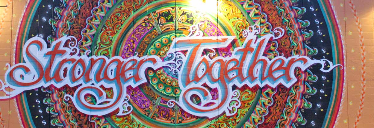 Stronger Together Mural