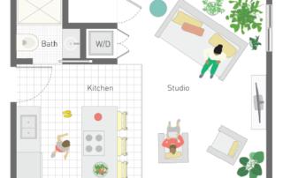 Backyard Studio Home Design