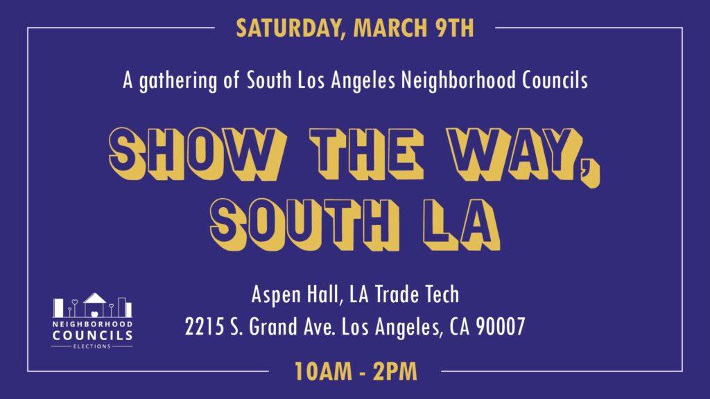 Show the way South LA