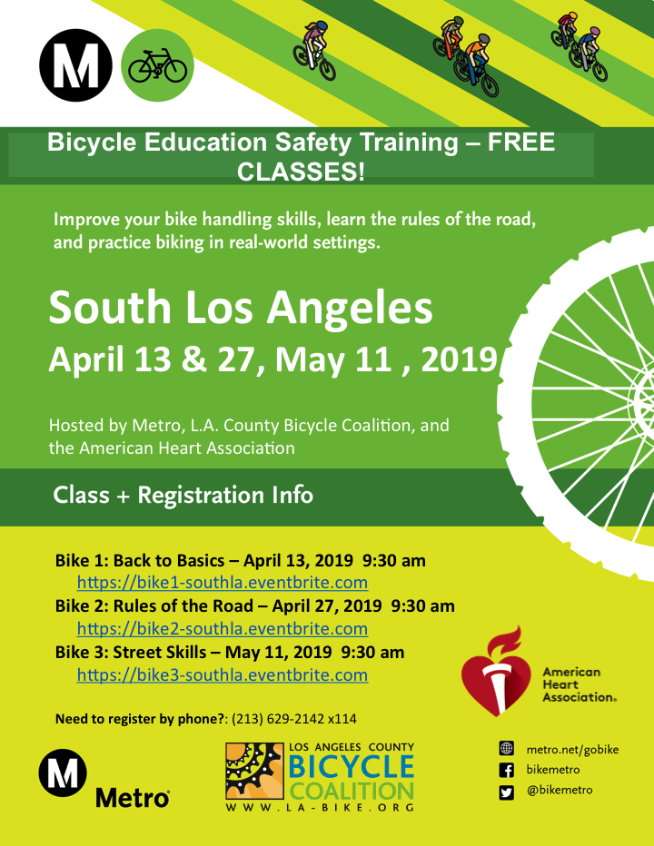 Bike Safety Classes