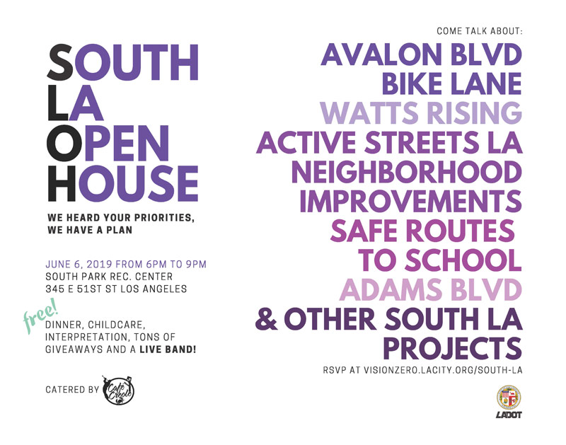Vision Zero South LA Open House