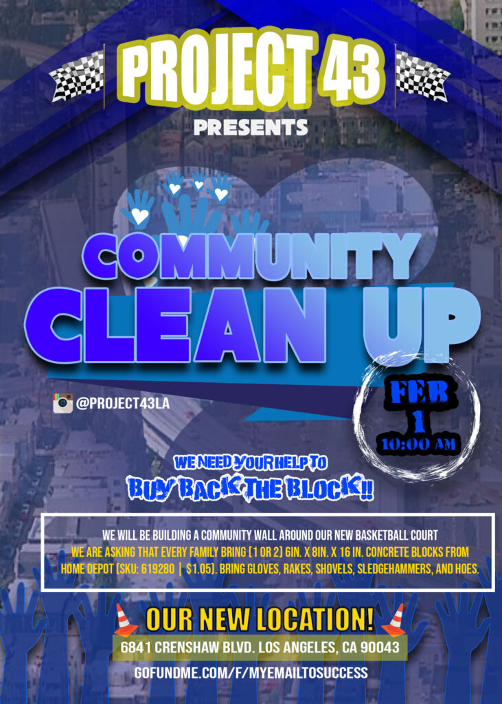 Project 43 Community Clean Up