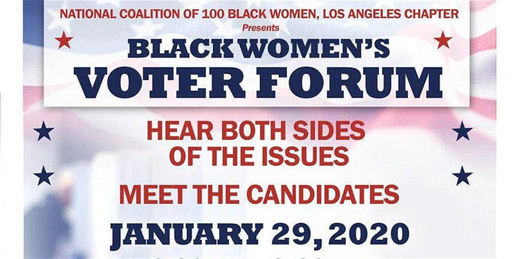 Black Women Voter Forum