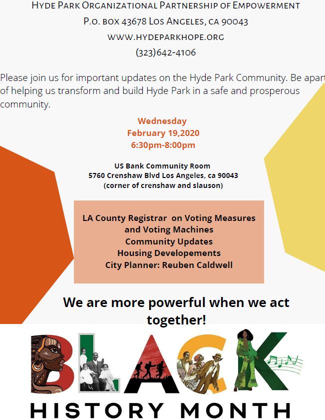 Hyde Park Community Empowerment