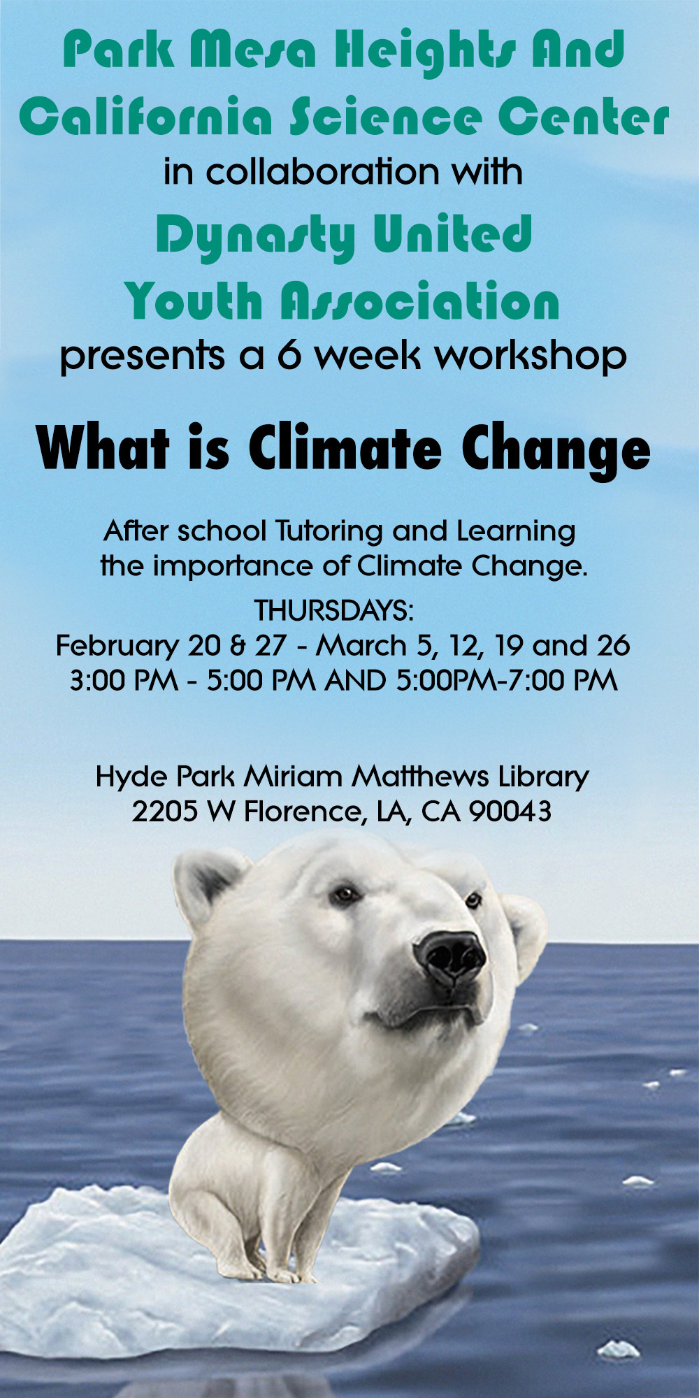 Kids Climate Change Workshop