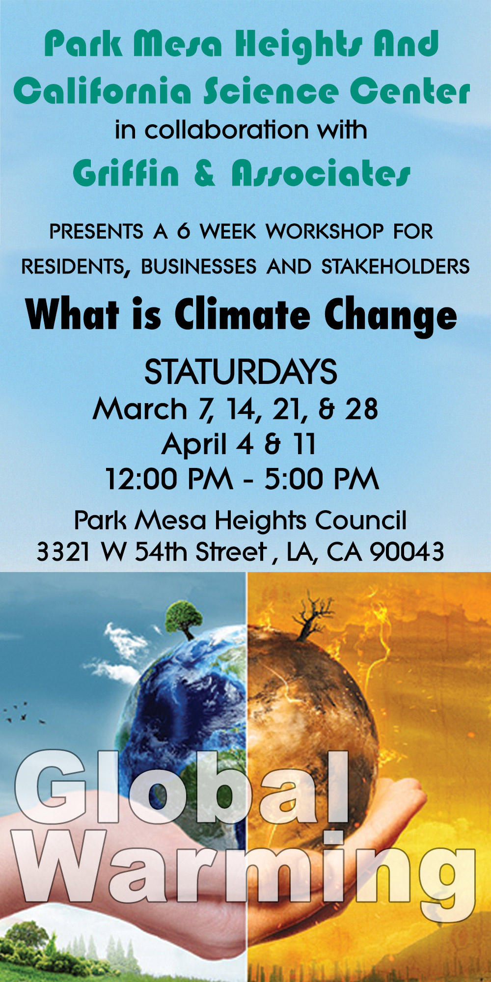 What is Climate Change Workshop