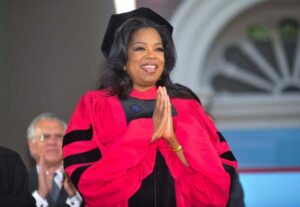 Oprah graduation speech