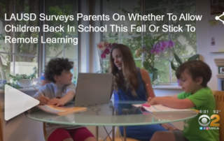 LAUSD Reopening Survey Video