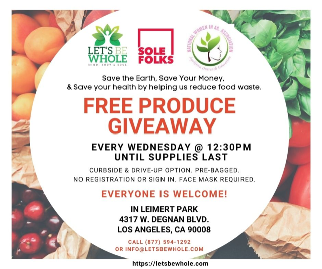 Produce giveaway