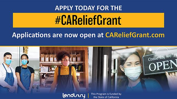 Ca Relief Grants