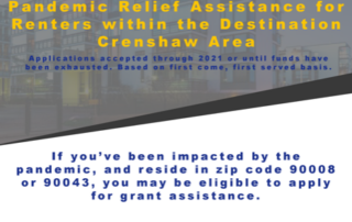 Renter relief assistance