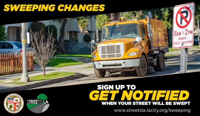 street sweeping get notified