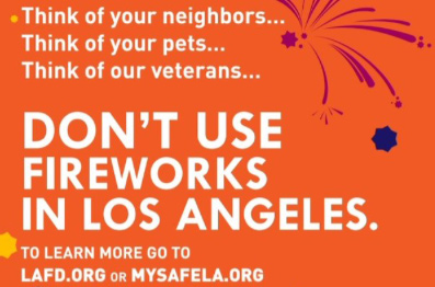 don't use fireworks
